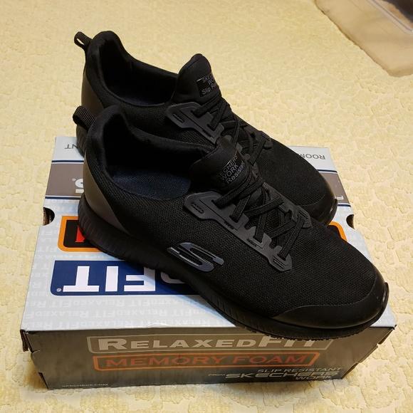 Skechers Shoes   Skechers All Black Non